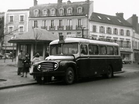 Gare De Mulhouse 1952