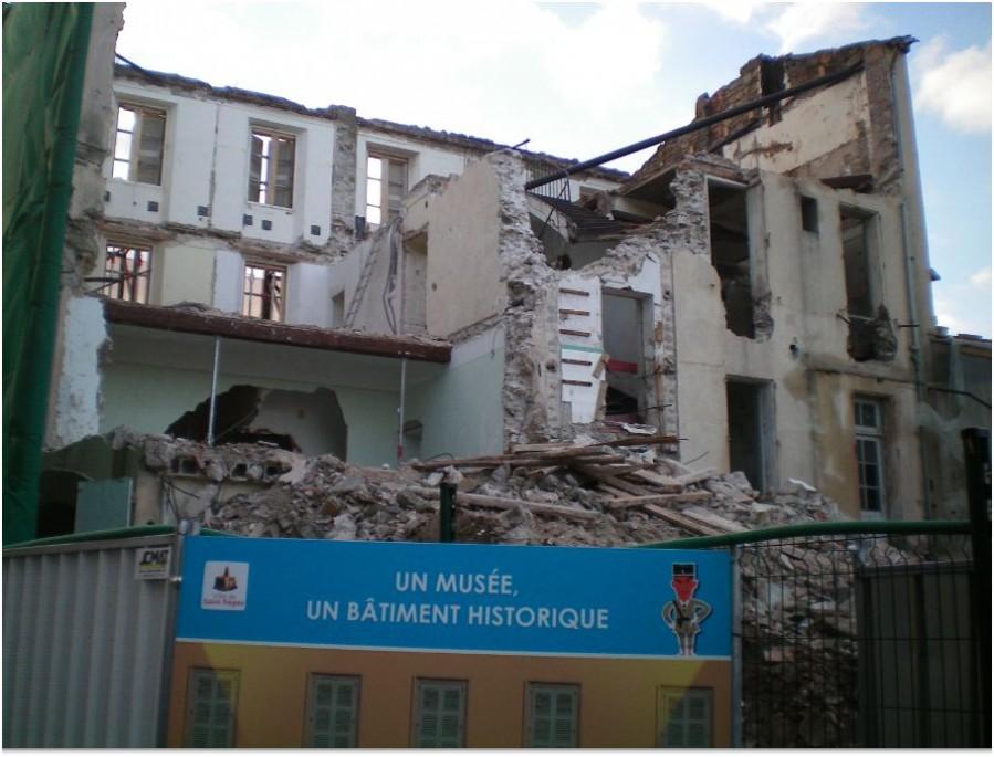 Une ex gendarmerie transform e en mus e - La maison de la gendarmerie ...