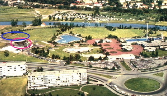 Quartier illberg et bel air en 1961 for Piscine illberg
