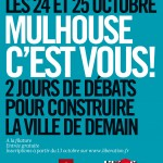 Affiche - 24 et 25 octobre - Forum Libération - Mulhouse c'est vous !