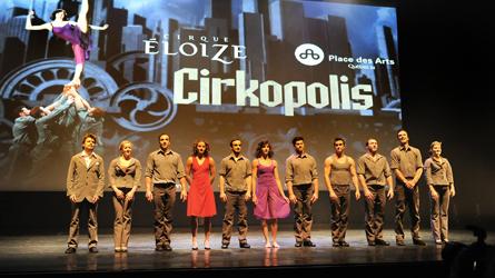 « Nous les enfants » cirque Cirkopolis à la Filature