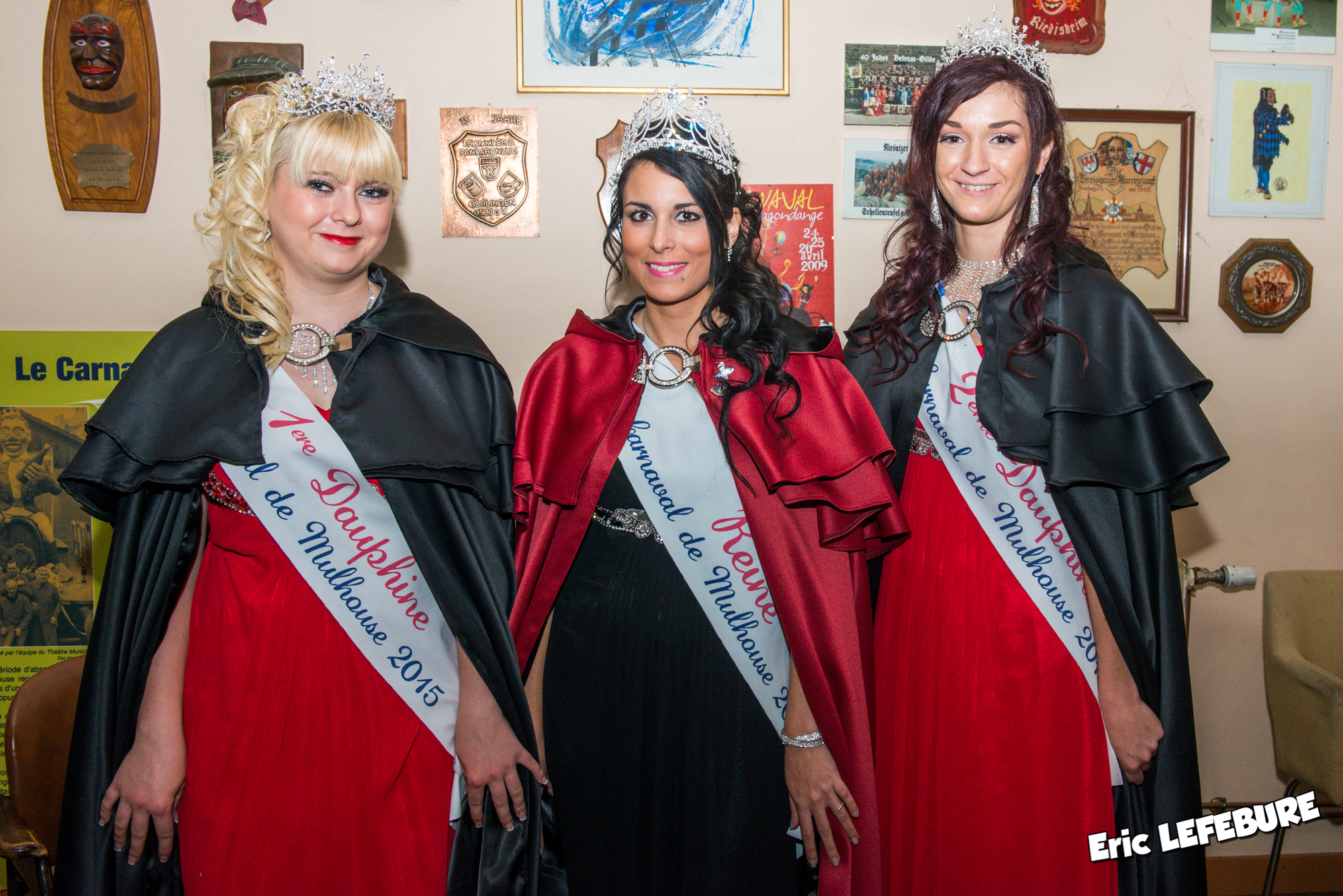 Trio royal carnavalesque 2015 De Mulhouse