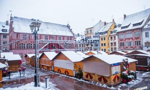 Neige à Mulhouse le 27 décembre 2014