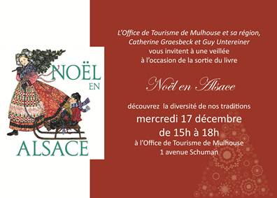 Veillée et séance de dédicaces à l'occasion de la sortie du livre Noël en Alsace