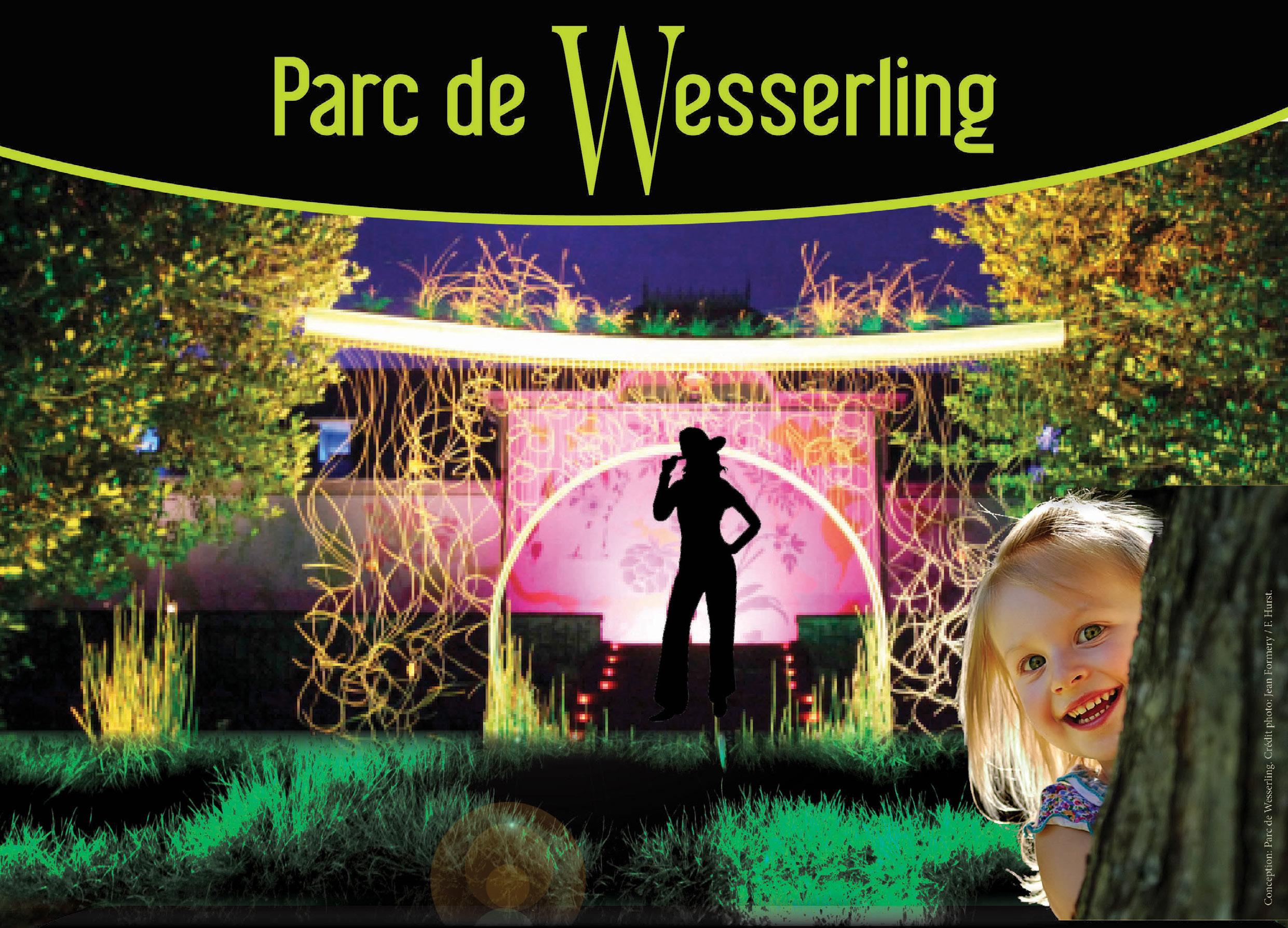 F erie nocturne au jardin du parc de wesserling la vie for Jardin nocturne