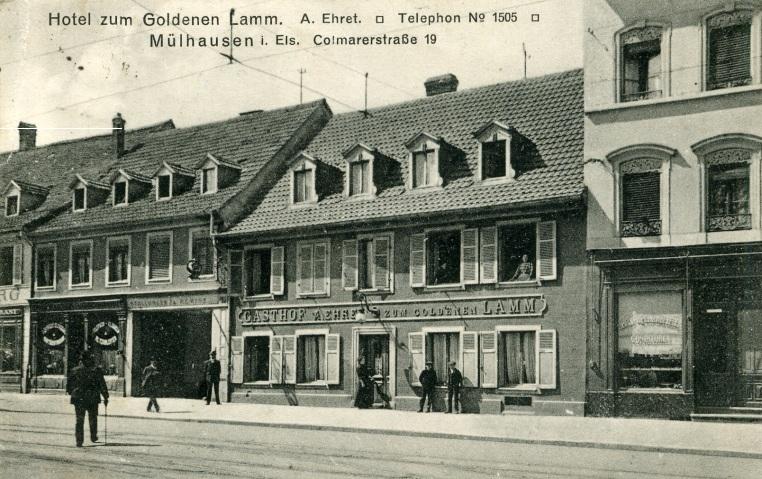 Photos mulhouse 1914 - Chambre des commerces mulhouse ...