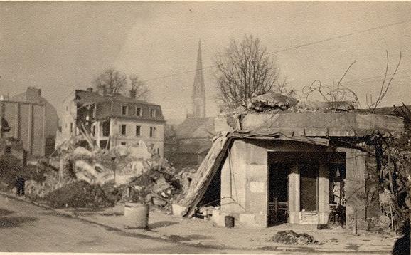 Post bombardement - Mulhouse habitat porte du miroir ...