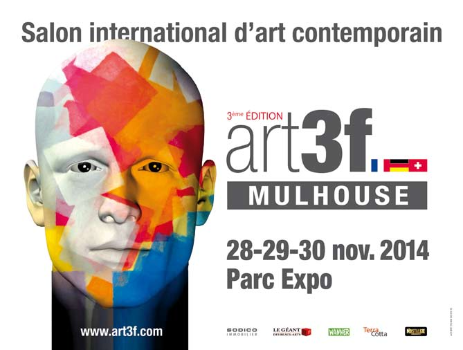 3 me salon international d 39 art contemporain de mulhouse art3f for Salon international d art contemporain toulouse