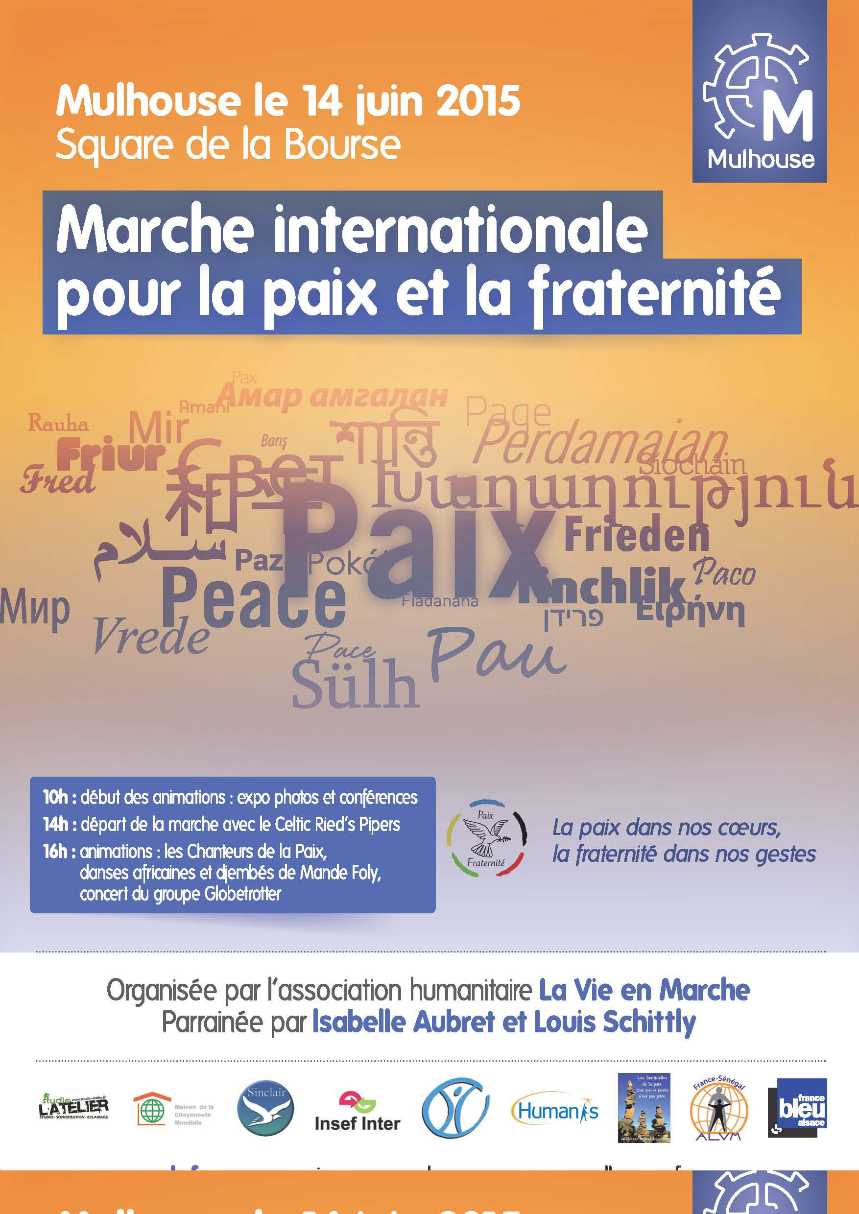 Marche Internationale pour la paix et la fraternité