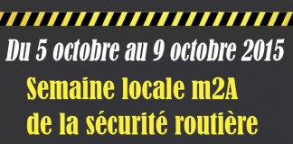 sécurité routière m2a Du 5 octobre au 9 octobre 2015
