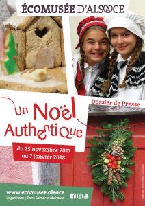 Noël authentique et créatif à l'Écomusée d'Alsace